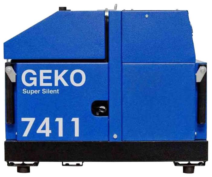 Трехфазный бензиновый генератор Geko 7411 ED-AA/HHBA (5,78 кВт)