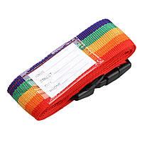 Багажный ремень для чемодана R82839 4 метра Разноцветный gr006548, КОД: 111301
