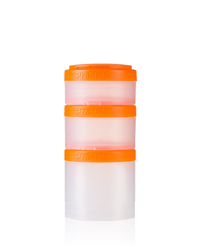 Контейнер спортивный BlenderBottle Expansion Pak Clear/Orange (ORIGINAL)