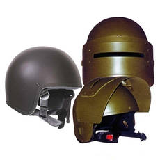 Шлемы, бронешлемы и каски