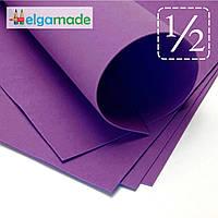 Фоамиран ИНДИГО, 1/2 листа, 30x70 см, 0.8-1.2 мм, Иран, фото 1