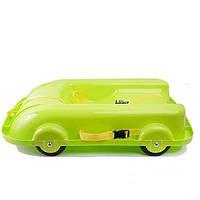 Санки 2 в 1 Doloni Toys Зеленые (bc-fl-1005)