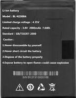Аккумулятор для Fly IQ453 Quad Luminor FHD оригинальный, батарея BL-N2000A