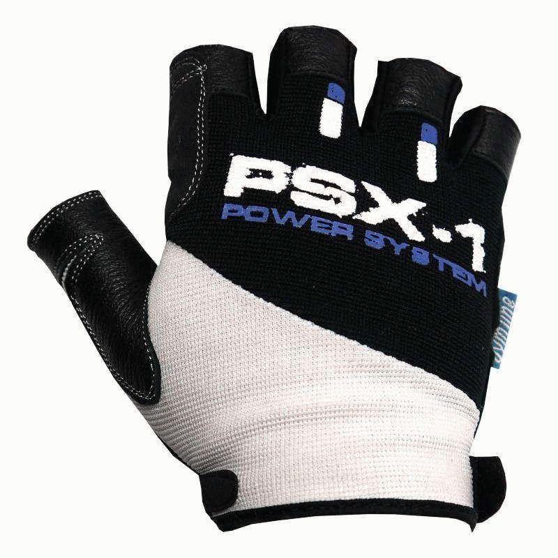 Перчатки для фитнеса и тяжелой атлетики Power System PSX-1 PS-2680 Blue XXL
