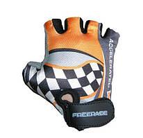 Велоперчатки детские Freerace FC-1000 (размер 4) Orange