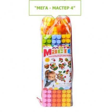 Конструктор Мега Майстер 4 54 ел. (1/5) MAXiMUS 16x14x60см, фото 2