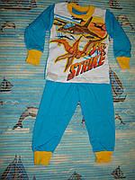 """Пижама для мальчика """"Полет""""  2, год"""