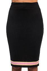 Трикотажная юбка SVTR 40-42 Черный 423, КОД: 1070489