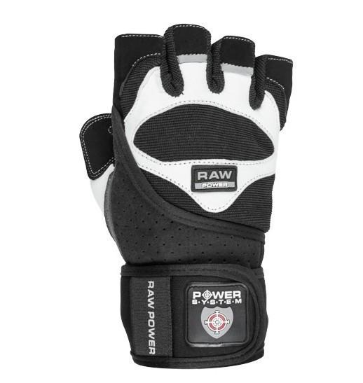 Перчатки для тяжелой атлетики Power System Raw Power PS-2850 XL Black/White