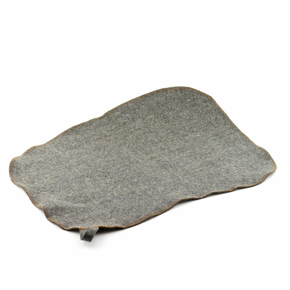 Коврик для сауны Luxyart натуральный войлок, серый (LS-198)