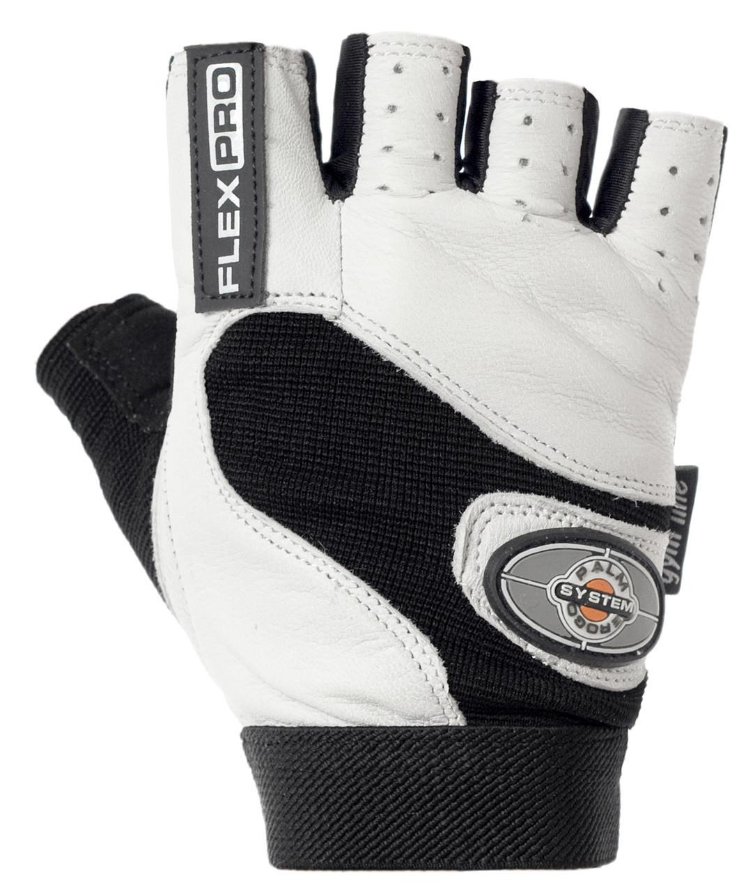 Перчатки для фитнеса и тяжелой атлетики Power System Flex Pro PS-2650 M White