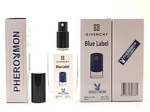 Givenchy pour Homme Blue Label мужской парфюм тестер 60 ml в цветной упаковке с феромонами (реплика)