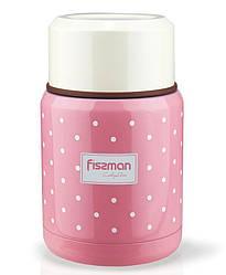 Термос пищевой Fissman Cooking Area 350 мл Розовый psgFN-VA-9666, КОД: 944880