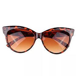 Очки солнцезащитные Bananahall Cat Eye Леопардовые bnnhll4152, КОД: 975286