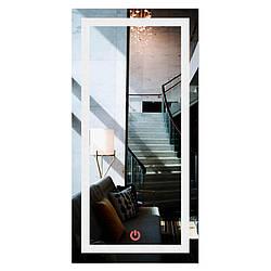 Зеркало прямоугольное с LED подсветкой во весь рост SmartWorld Crasula 110x80x3 см 1011-d370-110х, КОД: 1060612