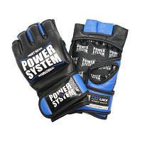 Перчатки для ММА Power System PS 5010 Katame Evo S/M Black/Blue, фото 1