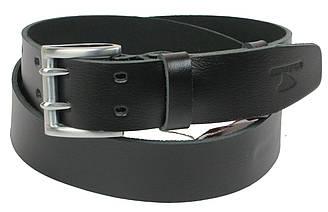 Кожаный ремень Skipper 110-130 x 4.5 см Черный 1161-45, КОД: 390032