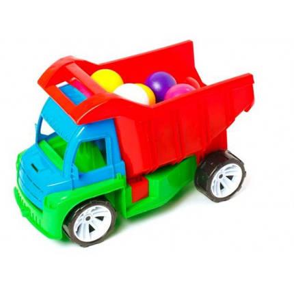 Алєкс грузовик з маленькими кульками (БАМСІК) 40*24*24 см, фото 2
