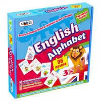 Пазли розвиваючі STRATEG 539 English alphabet 25х25х5