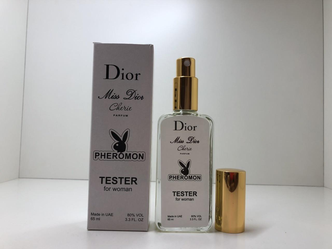Женская парфюмированная вода Miss Dior Cherie Parfum (Мис Диор Чери Парфюм) тестер 65 мл (реплика)