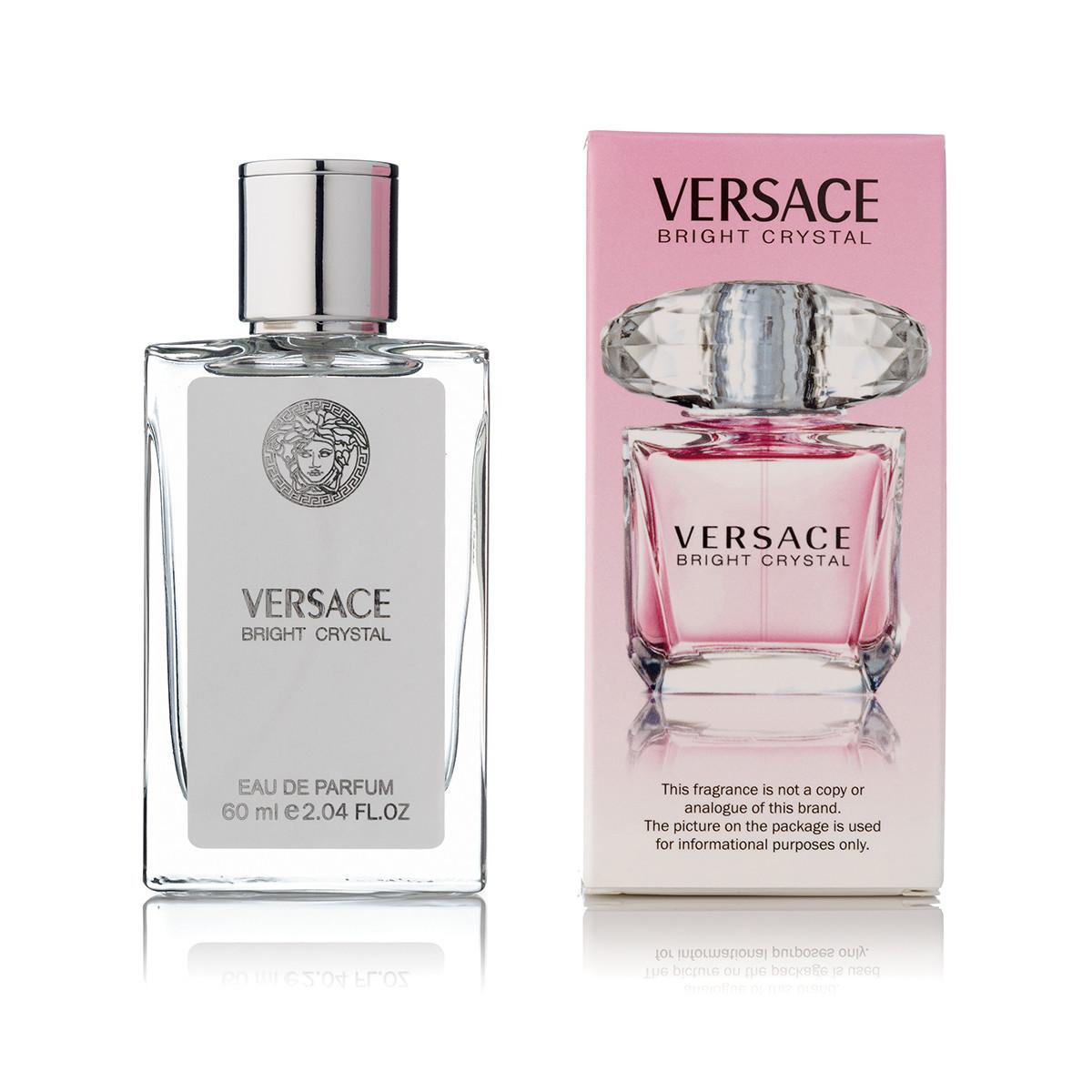 Женский парфюм Versace Bright Crystal (версаче брайт кристалл) тестер 60 ml в цветной упаковке (реплика)