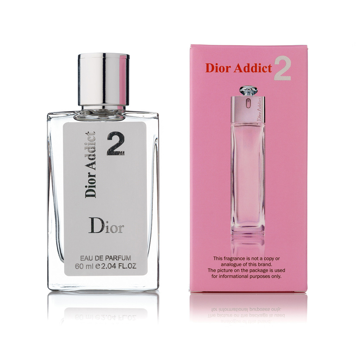 Женский парфюм Dior Addict 2 (диор аддикт 2) (реплика) тестер 60 ml