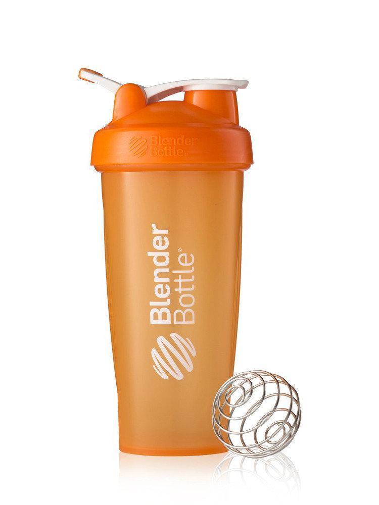 Шейкер спортивный BlenderBottle Classic Loop 28oz/820ml оранжевый (ORIGINAL)