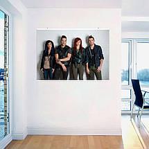 """Постер """"Skillet"""", плакат №2. Размер 60x43см (A2). Глянцевая бумага, фото 3"""