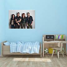 """Постер """"Skillet"""", плакат №2. Размер 60x43см (A2). Глянцевая бумага, фото 2"""