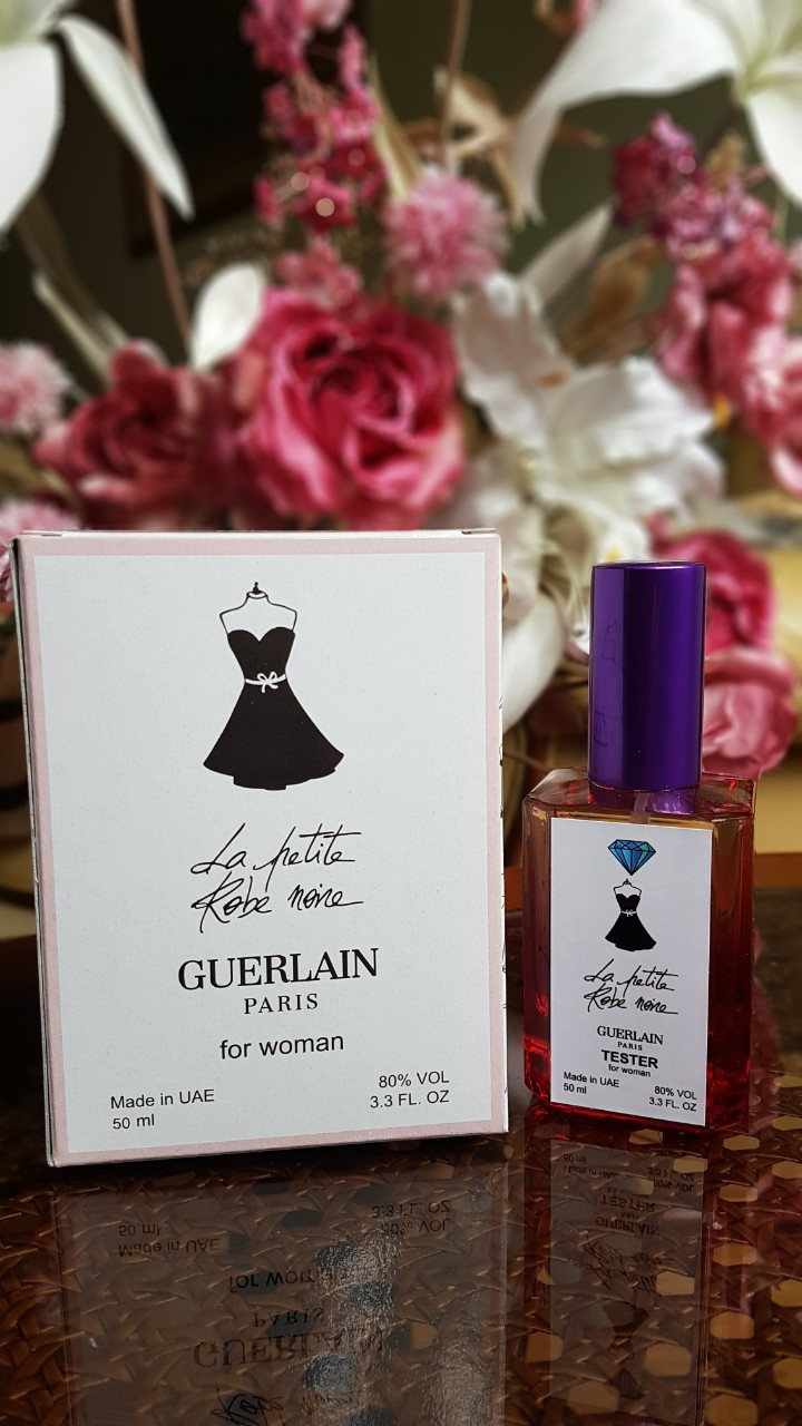 Женский парфюм Guerlain La Petite Robe Noir (герлен черное платье)  тестер 50 ml Diamond ОАЭ (реплика)