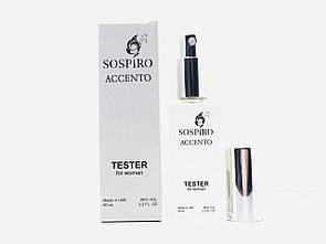 Тестер женский Sospiro Accento (Соспиро Ассенто) 60 мл ОАЭ (реплика)