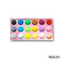 Набор MIX - NGA-01 для дизайна ногтей акрилом, Харьков