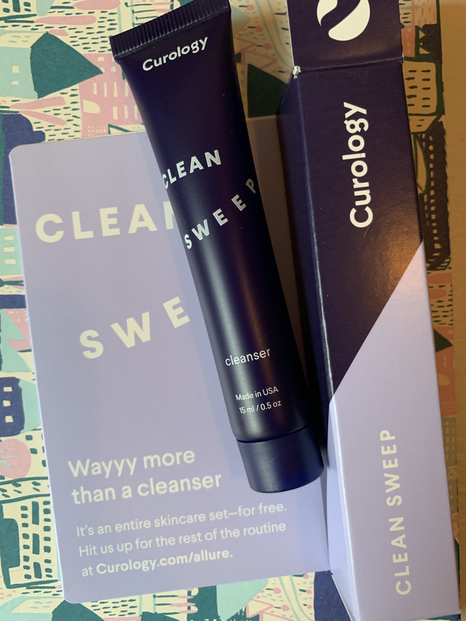 Очищение для кожи лица CUROLOGY Clean Sweep Cleanser