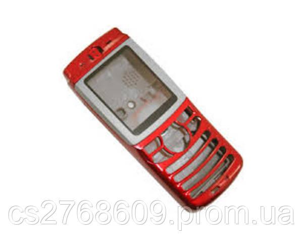 """Корпус """"А-клас"""" Motorola E398 червоний"""