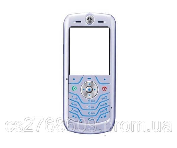 """Корпус """"А-клас"""" Motorola L6 сірий+ клавіатура"""
