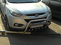 Защита переднего бампер (кенгурятник, бугель, дуга) Hyundai ix35