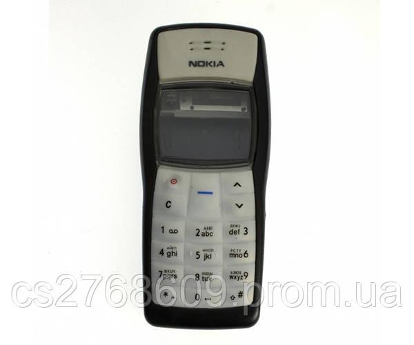 "Корпус ""А-клас"" Nokia 1100 чорний + клавіатура"