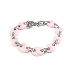 Браслет керамический 20.5 см Розовый BS025CR, КОД: 973760
