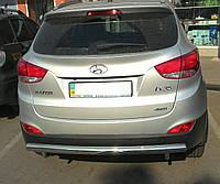 Защита заднего бампера Hyundai ix35