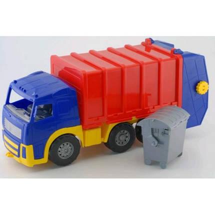 Машина Акрос сміттєвоз COLOR plast 580*200*250, фото 2