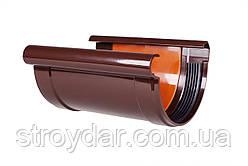 З'єднувач жолоба з вкладкою водостічна система Profil Ø130