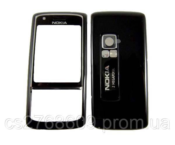 "Корпус ""High Copy"" Nokia 6288 (black) + клаві"