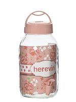 Диспенсер для напитков HEREVIN Beverage PINK, 3 л