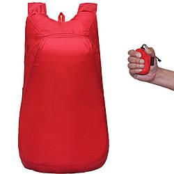 Рюкзак складывающийся Красный pk01-r, КОД: 186842