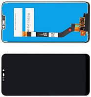 Дисплей модуль Asus ZB633KL x01ad ZenFone Max M2 в зборі з тачскріном, чорний