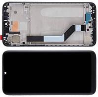 Дисплей модуль для Xiaomi Redmi Note 7 / Note 7 Pro в зборі з тачскріном, чорний, з рамкою