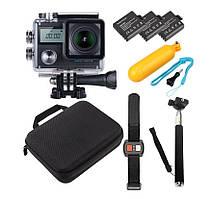 Спортивна камера OMNA N8 PRO + EIS (електронна стабілізація зображення) NOVATEK NT96660 + датчик SONY IMX078