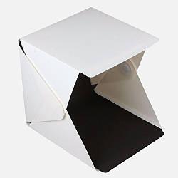 Фотобокс LightKub для предметной макросъемки 30 х 32 х 30 см Белый LK-30, КОД: 1137936