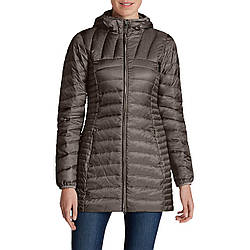Парка Eddie Bauer Womens Astoria Hooded Down Parka DK PEAT XXL Темно-коричневый 2680DPT, КОД: 1164692