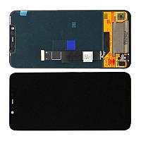 Дисплей модуль Xiaomi Mi 8 в зборі з тачскріном, чорний, високоякісна копія TFT